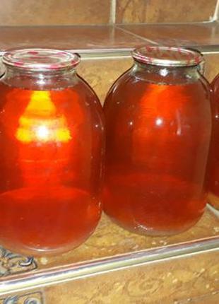 Домашний яблочный сок -продам или поменяю на стол
