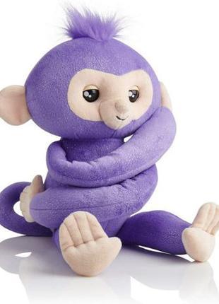 WowWee fingerlings обезьянка обнимашка Кики Hugs Kiki Plush Ba...