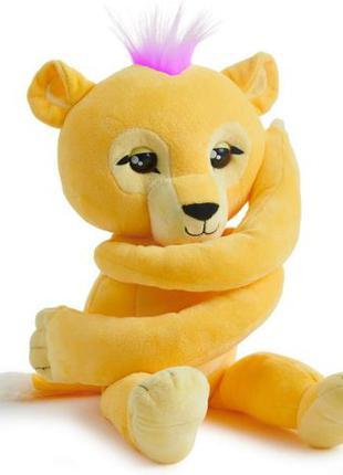 WowWee Fingerlings hugs Sam львёнок обнимашка Сэм Plush Baby l...