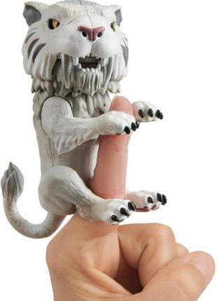WowWee Fingerlings Интерактивный ручной саблезубый тигр 3971 S...
