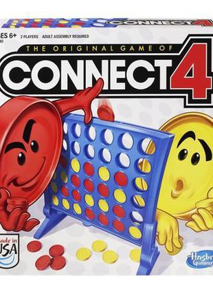 Hasbro Настольная логическая игра Собери 4 в ряд Connect Game ...