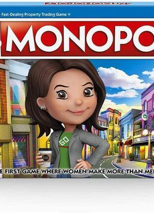 Монополия Ms. Monopoly настольная игра Hasbro