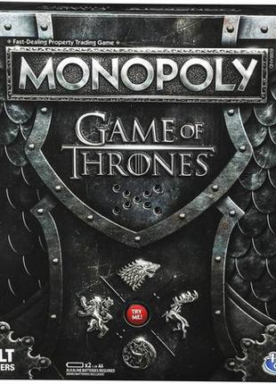 Монополия Игра престолов Monopoly Game of Thrones настольная игра