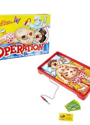 Hasbro Настольная игра Операция Classic Operation Game