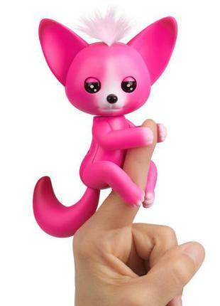 WowWee Fingerlings лисичка лиса Кайла повторюшка Kayla Baby Fo...