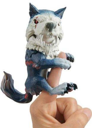 WowWee Fingerlings волк Midnight Untamed Dire Wolf Полуночный ...