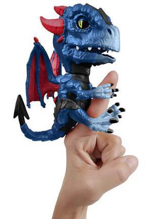 WowWee Fingerlings дракон Shockwave Untamed Dragon Интерактивн...