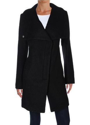 Пальто jessica simpson на молнии с трансформирующимся воротник...