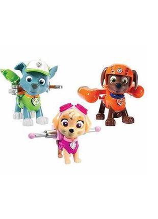 Paw Patrol Щенячий патруль щенки Зума, Рокки, Скай Action Pack...
