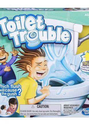 Hasbro Настольная игра Туалетная неприятность Games Toilet Tro...