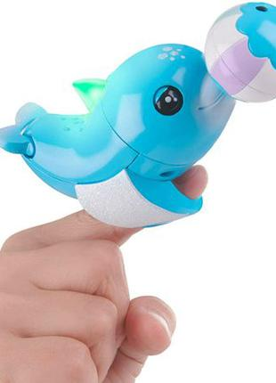 WowWee Fingerlings Dolphin дельфин Блюз Baby Blues Light-Up In...
