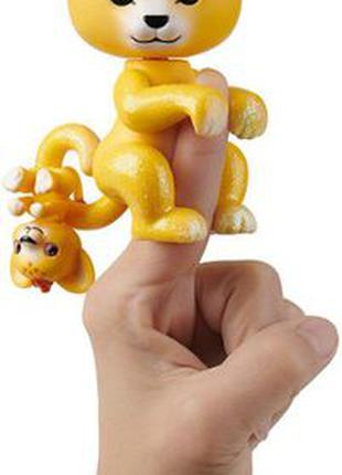 WowWee Fingerlings Интерактивный ручной лев Сам светится Lion ...