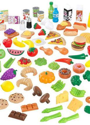 KidKraft продукты Набор игрушечных продуктов 115 деталей Tasty...