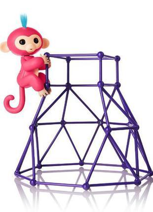 WowWee Fingerlings Aimee Baby Jungle Gym Интерактивная обезьян...