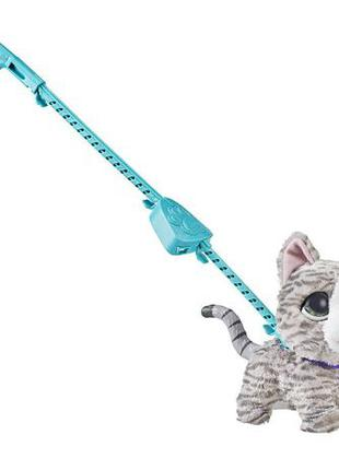 FurReal Friends Walkalots Big Wag Kitty кошка котенок на повод...