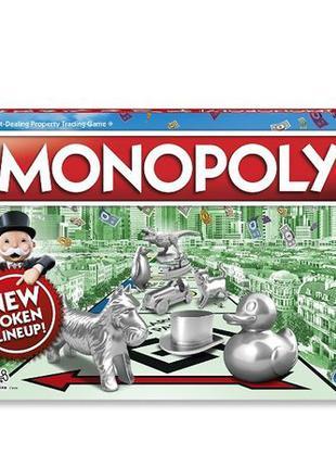 Hasbro Настольная игра Классическая Монополия Monopoly Classic...