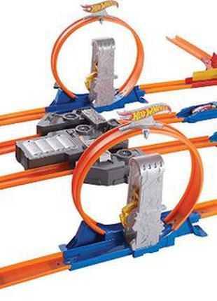 Hot Wheels Total Turbo Takeover двойное ускорение BGX89 трек м...