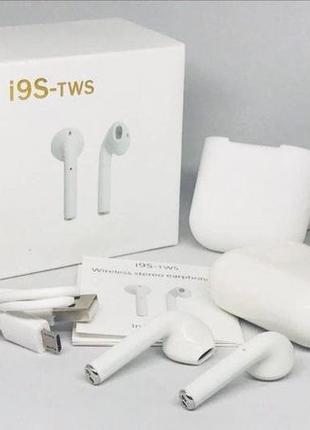 Беспроводные наушники Bluetooth i9S TWS Apple Airpods!!! ТОП П...