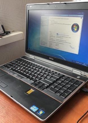 Ноутбук Dell Latitude E6520 15,6' HD HDD 512GB Intel Core I5-2...