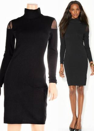 """Эффектное платье """"гольф"""" ralph lauren, с прозрачными вставками..."""