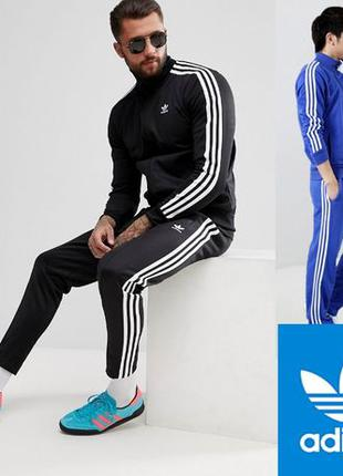 ТОПспортивный костюм Adidas зауженными штанами/эластан Адидас ...