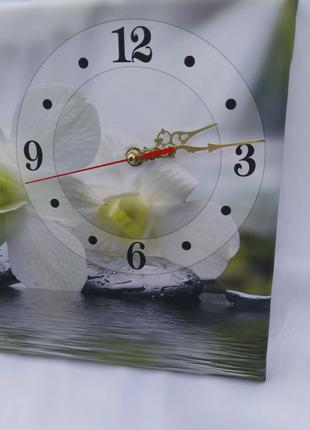 Часы на холсте 30 х 50 см.