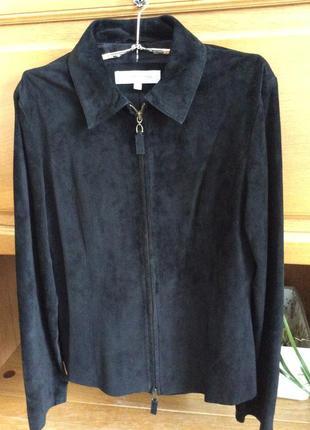😻временное снижение цены😘 куртка пиджак из тонкой замши contem...