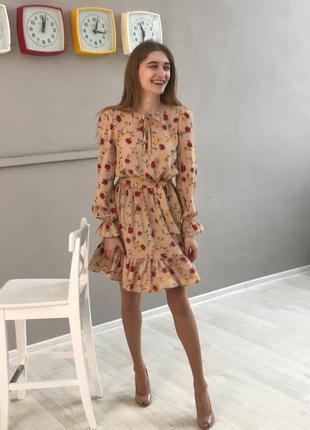 Невероятное платье в цветочный принт 🥰
