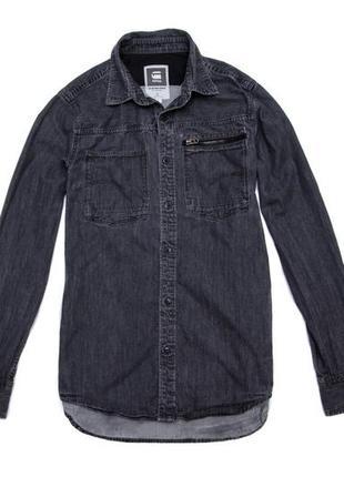 Рубашка мужская g-star raw. размер m