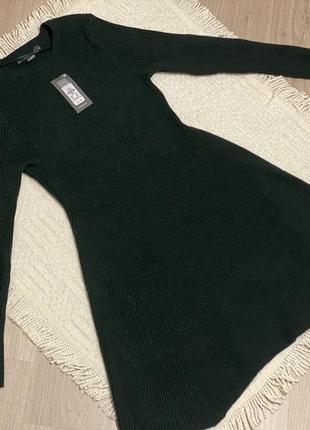 Primark платье темно-зеленое