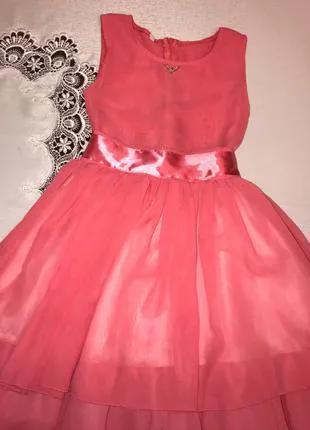 платье для девочки, нарядное платье