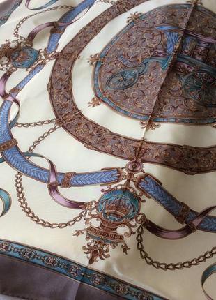Прекрасный шелковый платок италия