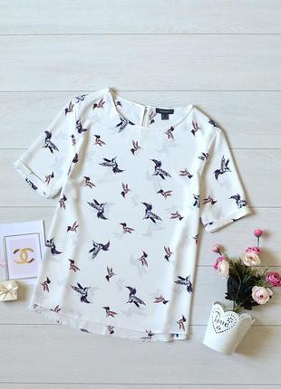 Красива блуза в пташки primark