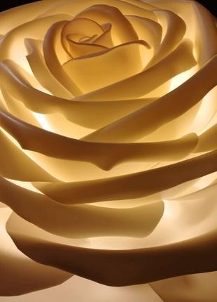 Огромная Роза светильник бра  диаметром 60см.
