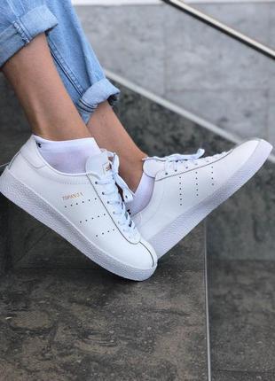Adidas topanga full white