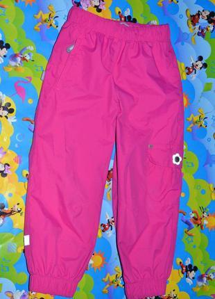 Демисезонные штаны lenne 110см. брюки для девочки.