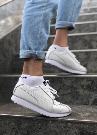 Puma white женские кроссовки