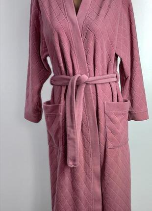 Женский флисовый халат размер 38-40