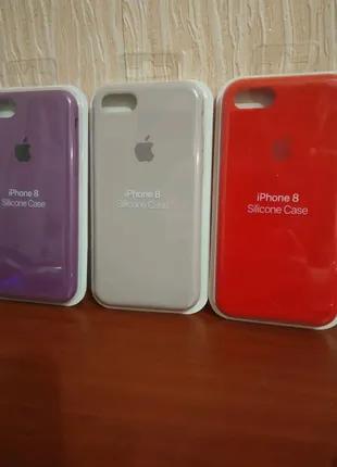 Чехол на айфон 7 Silicone Case