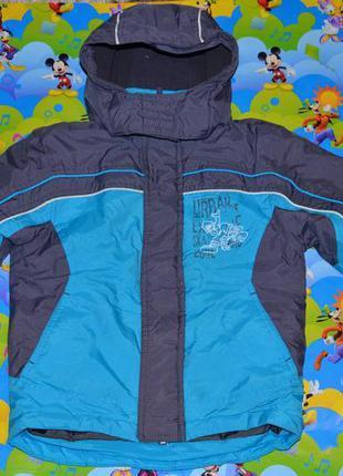 Демисезонная куртка palomino 98см на мальчика