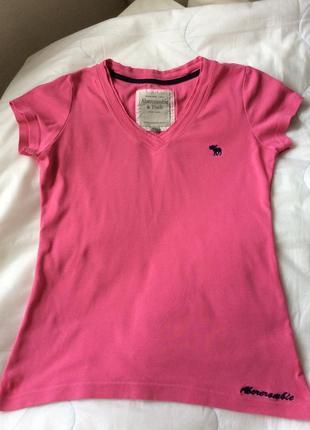 Новая футболка abercrombie & fitch