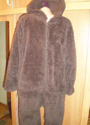 Человечек, кигуруми, медведь, ведмідь, пижама, костюм. dunelm
