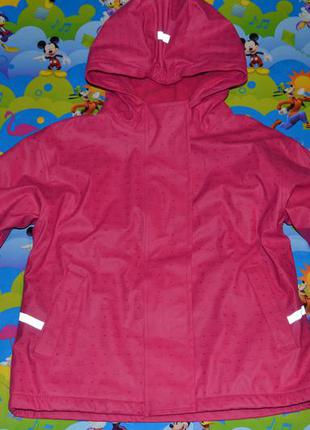 Демисезонная куртка impidimpi, дождевик 98/104