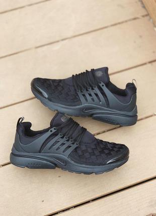 Nike presto se black cтильные кроссовки найк эир престо весна\...