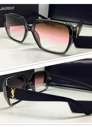 Солнцезащитные очки женские классика геометрия идеальная посад...