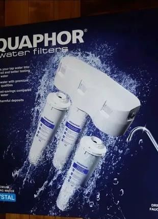 Аквафор КРИСТАЛЛ фильтр для жесткой воды тройная система очистки