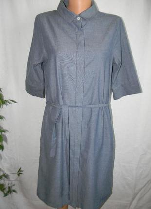 Платье -рубашка под джинс quba & co