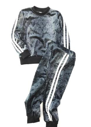 Велюровый костюмчик❤️с 86 по 112 см