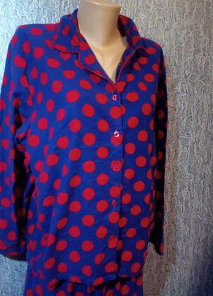 Женская фланелевая пижама. sleepin