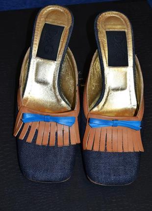 Мюли, туфли, босоножки dg dolce gabbana дольче габбана 38 размер